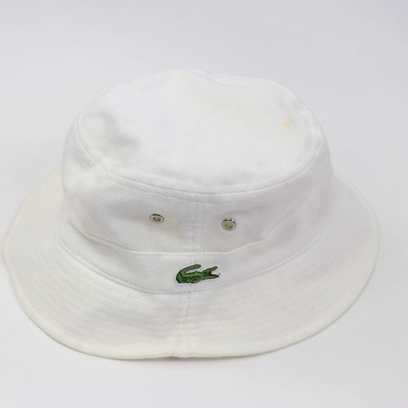 de0c3b4cee2 NWT Lacoste Bucket Hat